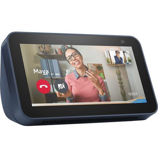 "Amazon Echo Show 5 with Alexa - 5.5"" Screen - Blue"