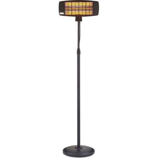 Swan Al Fresco SH16350N Stand Electric Patio Heater With Remote Control 2000W - Black