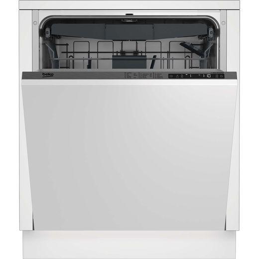 Beko DIN28R22 Built In Standard Dishwasher - Silver