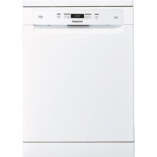 Hotpoint HFC3C26WCUK Standard Dishwasher - White - E Rated