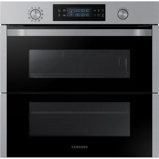 Samsung Dual Cook Flex NV75N5641RS Built In Electric Single Oven - Stainless Steel - A+ Rated