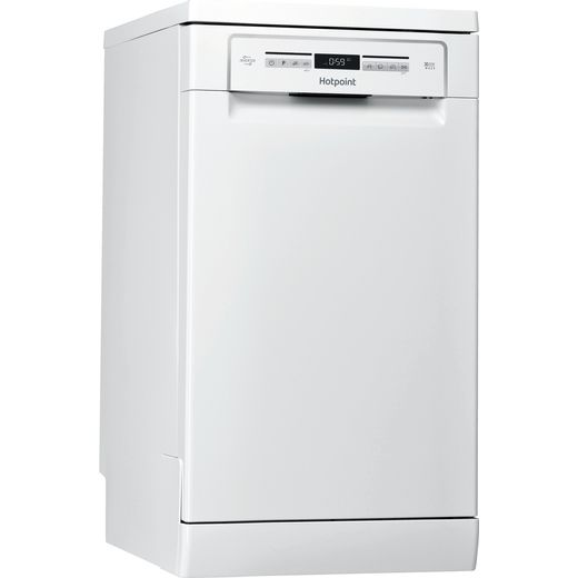 Hotpoint HSFO3T223WUKN Slimline Dishwasher - White - A++ Rated