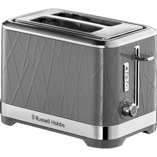 Russell Hobbs Structure 28092 2 Slice Toaster - Grey
