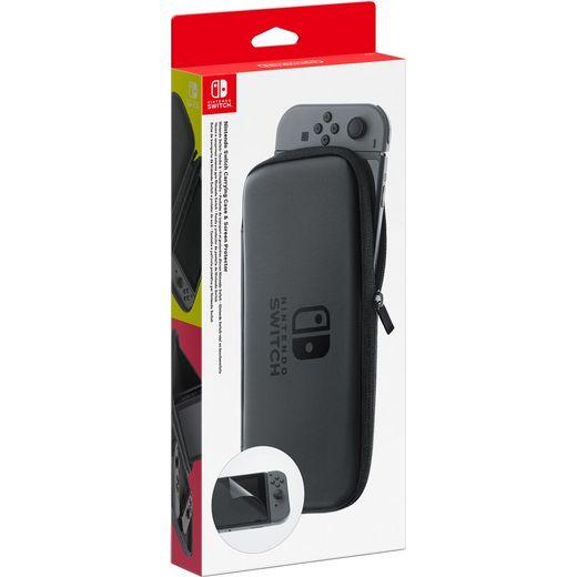 Nintendo Bag & Screen Protector - Black