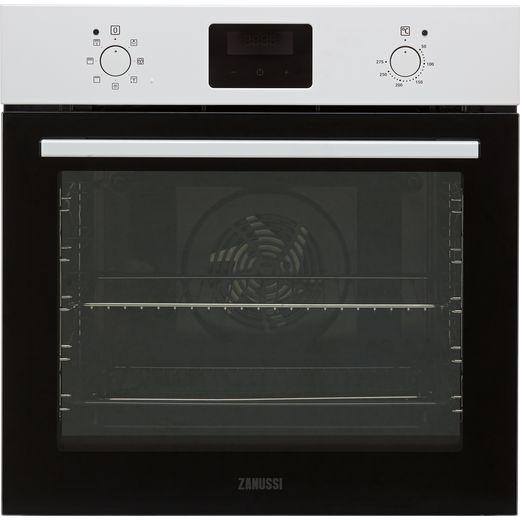 Zanussi ZOHNX3W1 Built In Electric Single Oven - White
