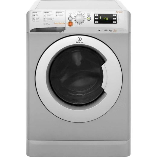 Indesit Innex XWDE861480XS 8Kg / 6Kg Washer Dryer with 1400 rpm - Silver - A Rated