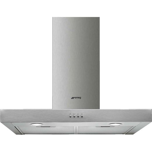 Smeg Cucina KATE600EX 60 cm Chimney Cooker Hood - Stainless Steel - C Rated