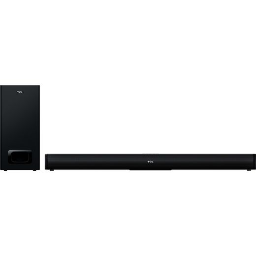TCL TS5010 Bluetooth 2.1 Soundbar with Wireless Subwoofer - Black