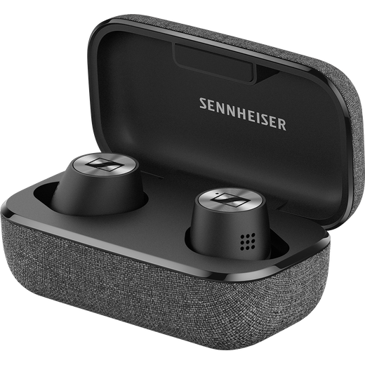 Sennheiser Momentum In-Ear Wireless Bluetooth Headphones - Black