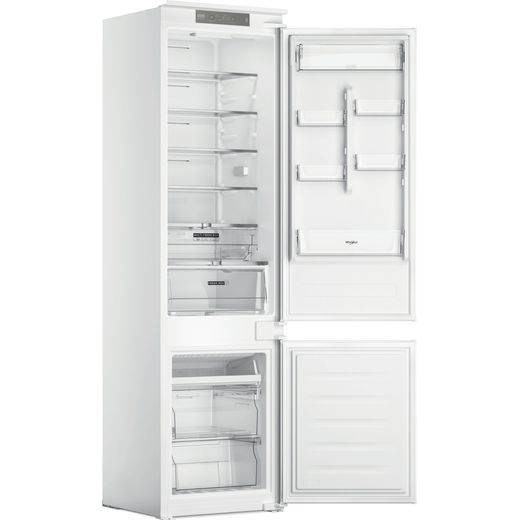 Whirlpool WHC20T321UK Integrated 70/30 Frost Free Fridge Freezer with Sliding Door Fixing Kit - White - F Rated