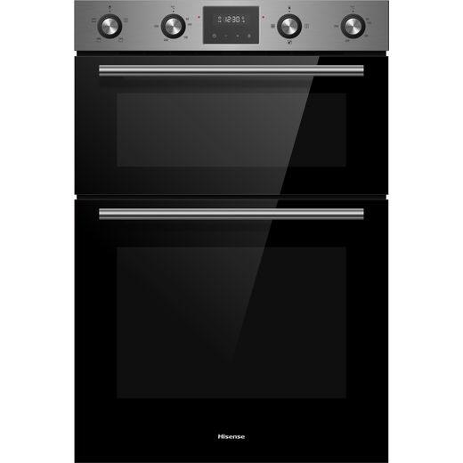 Hisense BID99222CXUK Built In Electric Double Oven - Stainless Steel - A Rated