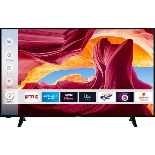 """Techwood 50AO9UHD 50"""" Smart 4K Ultra HD TV With Dolby Vision and Works With Alexa"""
