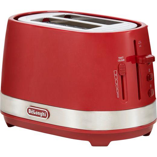 De'Longhi Active Line CTLA2003.R 2 Slice Toaster - Red