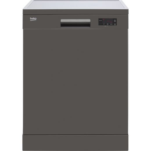 Beko DFN16430G Standard Dishwasher - Graphite - D Rated