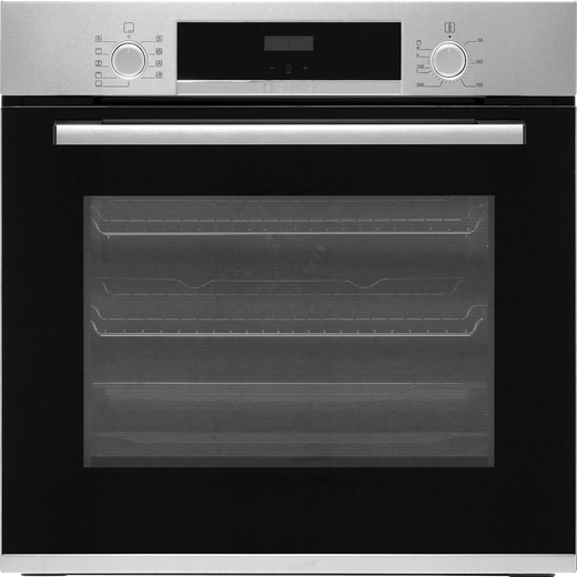 Bosch Serie 4 HBS534BS0B Built In Electric Single Oven - Stainless Steel - A Rated