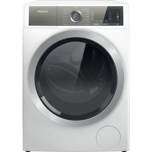 Hotpoint GentlePower H6W845WBUK 8Kg Washing Machine with 1400 rpm - White - B Rated