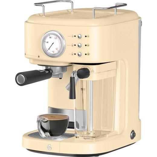 Swan Retro SK22150CN Espresso Coffee Machine - Cream