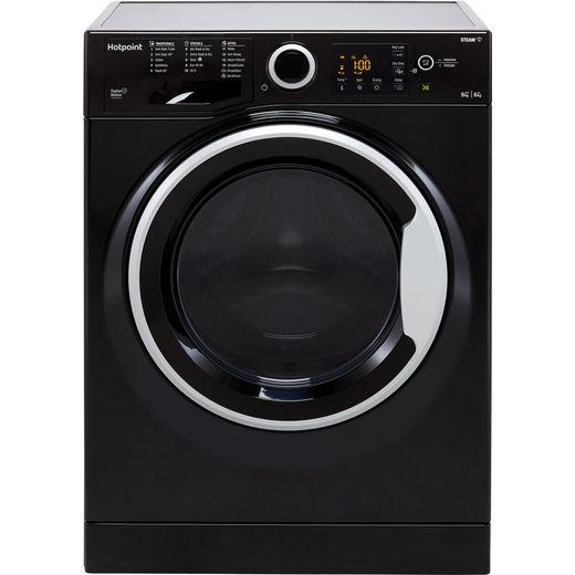 Hotpoint RDG9643KSUKN 9Kg / 6Kg Washer Dryer with 1400 rpm - Black - D Rated