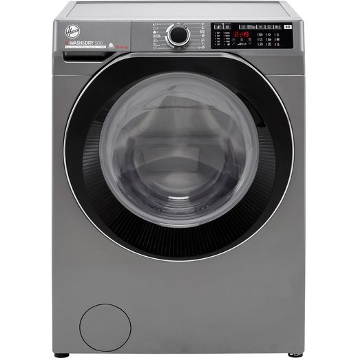 Hoover H-WASH 500 HDD4106AMBCR Wifi Connected 10Kg / 6Kg Washer Dryer with 1400 rpm - Graphite - D Rated