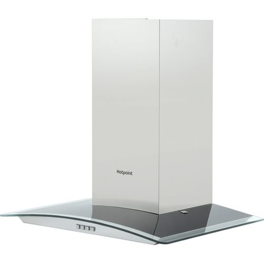 Hotpoint PHGC6.4FLMX 60 cm Chimney Cooker Hood - Stainless Steel - D Rated