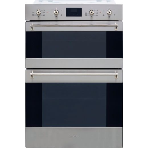 Smeg Classic DOSF6300X Built In Electric Double Oven - Stainless Steel - A/B Rated