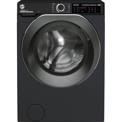 Hoover H-WASH 500 HWD69AMBCB/1 Wifi Connected 9Kg Washing Machine with 1600 rpm - Black - A Rated