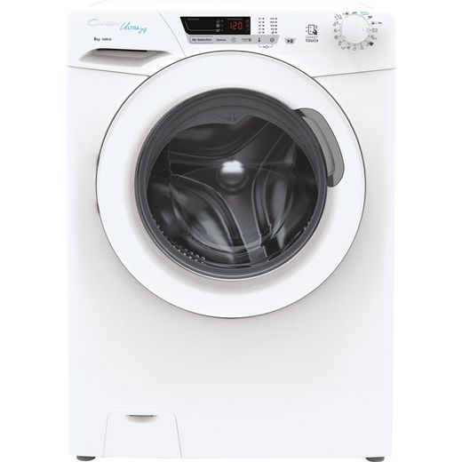 Candy Ultra HCU1482DE/1 8Kg Washing Machine with 1400 rpm - White - D Rated