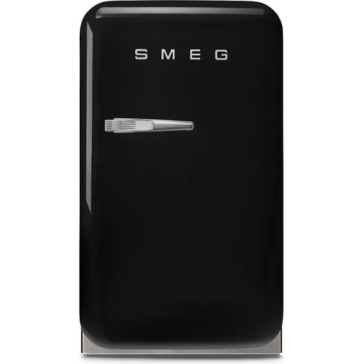 Smeg Right Hand Hinge FAB5RBL5 Fridge - Black - D Rated