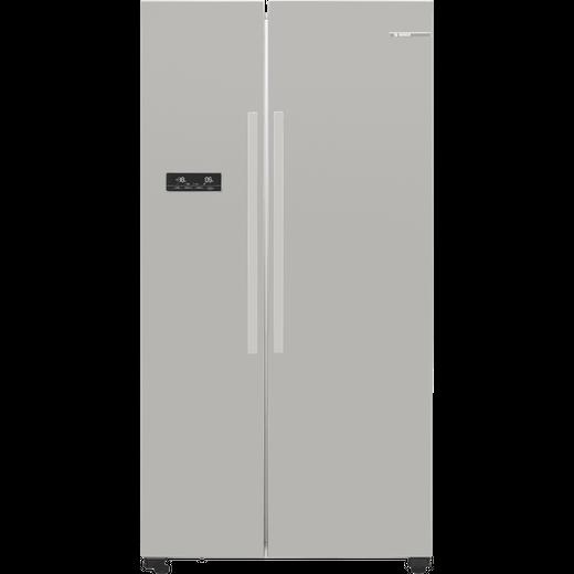 Bosch Serie 4 KAN93VIFPG American Fridge Freezer - Stainless Steel Effect - F Rated