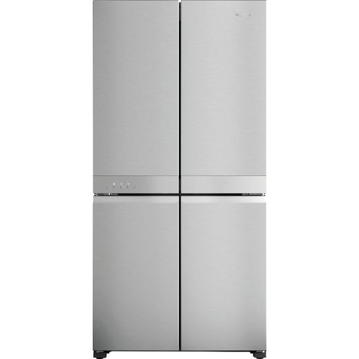 Hotpoint HQ9M2LUK American Fridge Freezer - Silver - E Rated