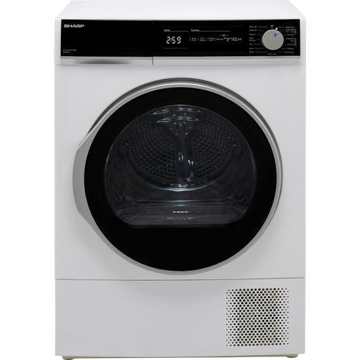 Sharp KD-NHH8S7GW2-EN Heat Pump Tumble Dryer - White