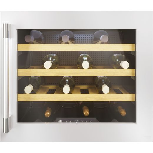 Hoover HWCB45UKSSM/1 Built In Wine Cooler - Stainless Steel - A+ Rated
