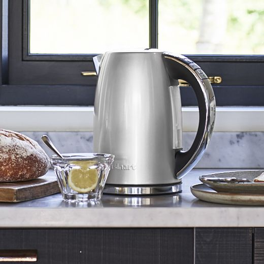 Cuisinart Style Collection CPK17SU Kettle with Temperature Selector - Pearl Grey
