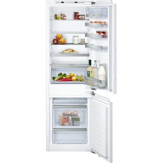 NEFF N70 KI7863DF0G Built In Fridge Freezer - White