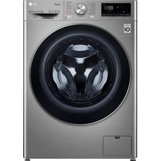 LG V7 FWV796STSE Wifi Connected 9Kg / 6Kg Washer Dryer with 1400 rpm - Graphite - E Rated
