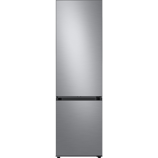 Samsung Bespoke RB38A7B53S9 70/30 Frost Free Fridge Freezer - Brushed Steel - C Rated