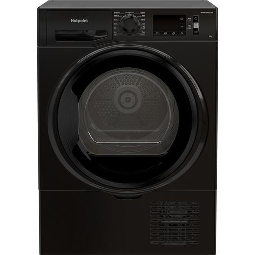 Hotpoint H3D81BUK 8Kg Condenser Tumble Dryer - Black - B Rated