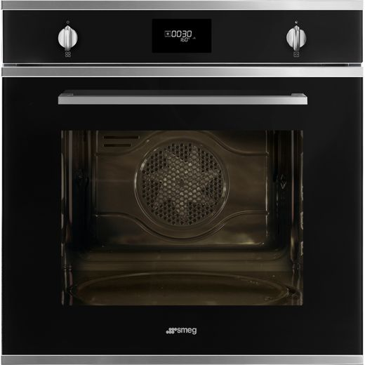Smeg Cucina SFP6401TVN1 Built In Electric Single Oven - Black - A+ Rated