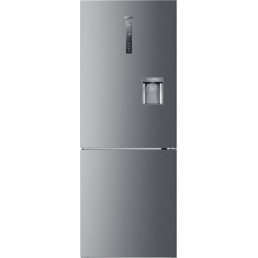 Haier HDR5719FWMP Fridge Freezer - Platinum Inox
