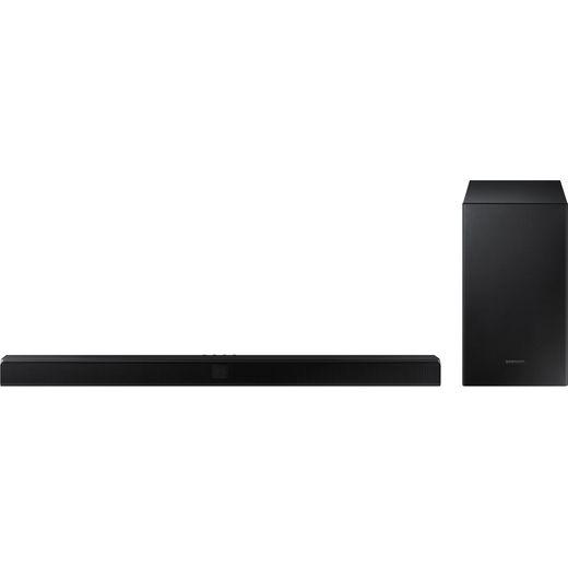 Samsung HW-T550 Bluetooth 2.1 Soundbar with Wireless Subwoofer - Black