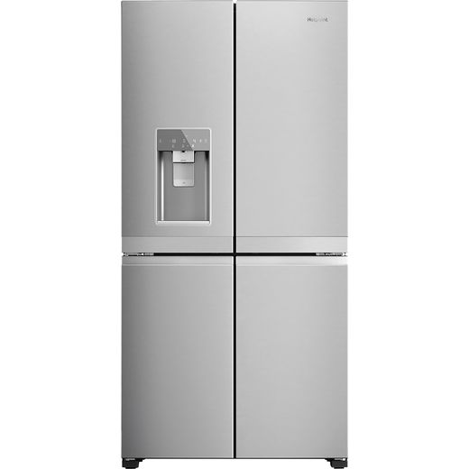 Hotpoint HQ9IMO1LUK American Fridge Freezer - Silver - F Rated