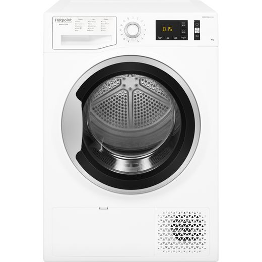 Hotpoint NTM1192SKUK 9Kg Heat Pump Tumble Dryer - White - A++ Rated