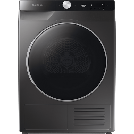 Samsung Series 9 OptimalDry™ DV90T8240SX Wifi Connected 9Kg Heat Pump Tumble Dryer - Graphite - A+++ Rated