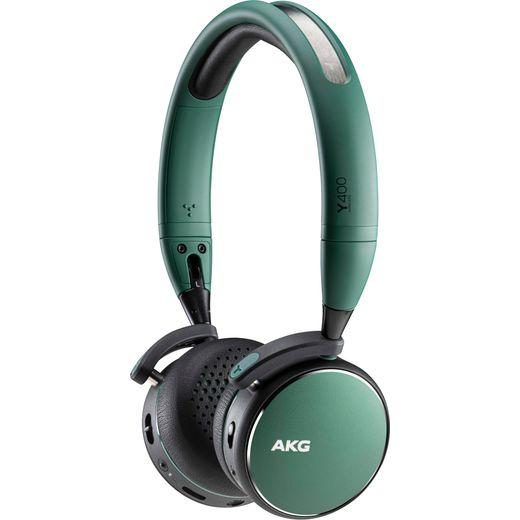 AKG Y400 Over-Ear Wireless Bluetooth Headphones - Green
