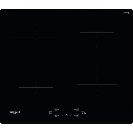 Whirlpool WSQ2160NE 59cm Induction Hob - Black