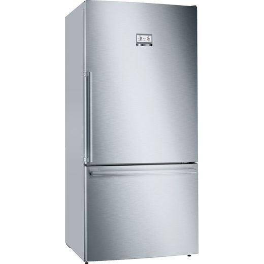 Bosch Serie 6 KGB86AIFP 70/30 Frost Free Fridge Freezer - Stainless Steel Effect - F Rated