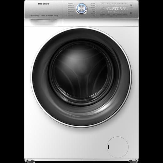 Hisense WFQR1014EVAJM 10Kg Washing Machine with 1400 rpm - White - B Rated
