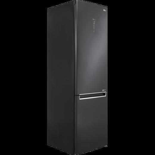 LG GBB72MCUFN 70/30 Frost Free Fridge Freezer - Matte Black - D Rated