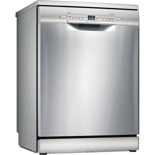Bosch Serie 2 SGS2HVI66G Standard Dishwasher - Silver - E Rated