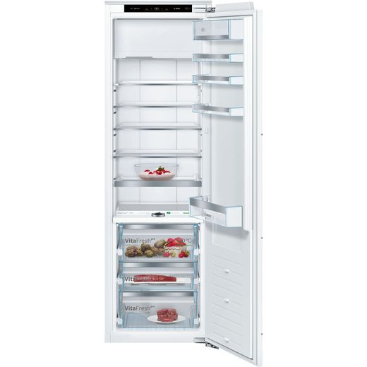 Bosch Serie 8 KIF82PFF0 Integrated 70/30 Fridge Freezer with Fixed Door Fixing Kit - White - F Rated